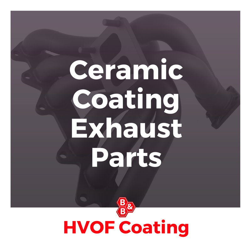 ceramic coating exhaust parts