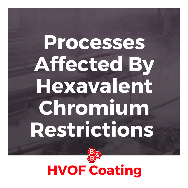 Processes Affected By Hexavalent Chromium Restrictions | B&B