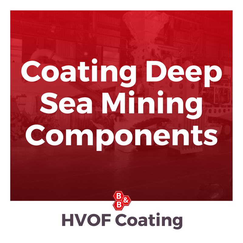 Coating Deep Sea Mining Components