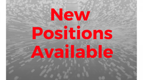 New Positions Available
