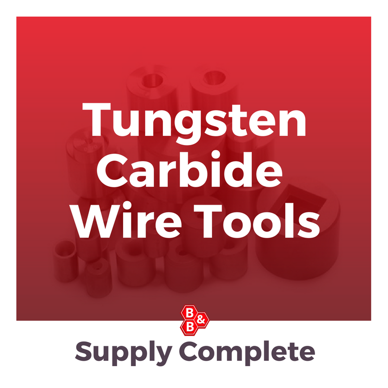B&B Precision Tungsten Carbide Wire Tools