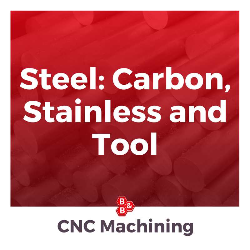 B&B Precision: carbon, stainless and tool steel
