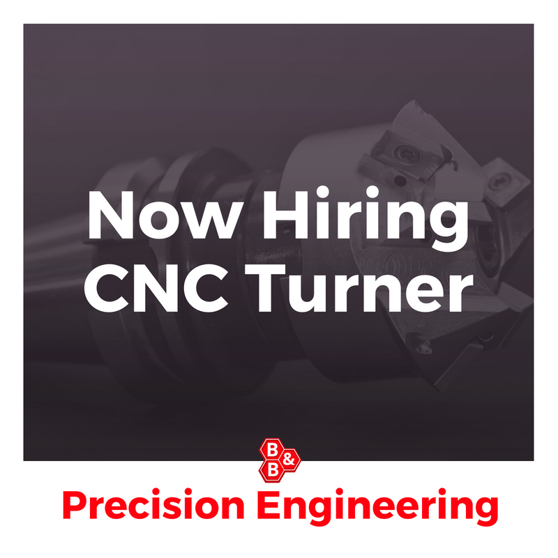 B&B Precision: cnc turner position