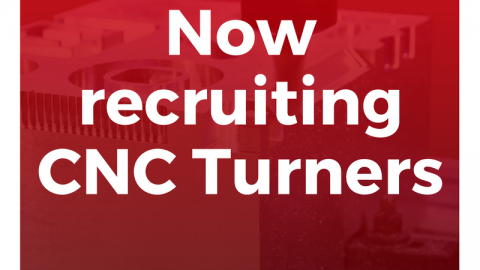 Now Recruiting CNC Turners