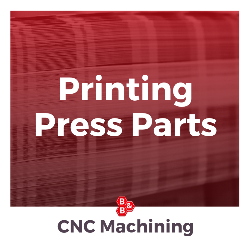 B&B precision_ printing press parts