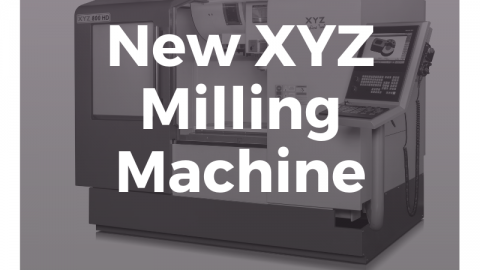 New XYZ Milling Machine